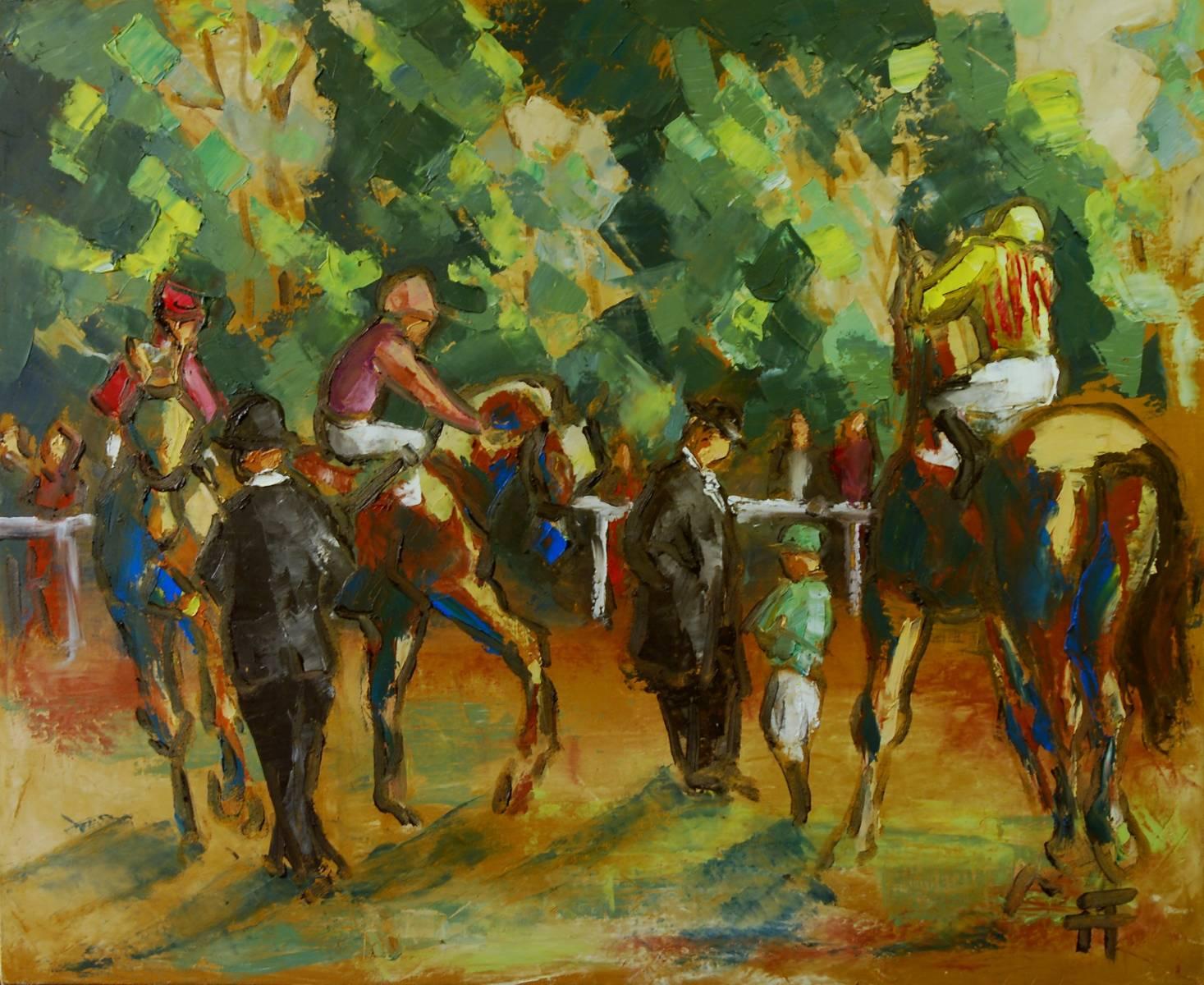 20-16-paddock 3 chevaux-73 x 60
