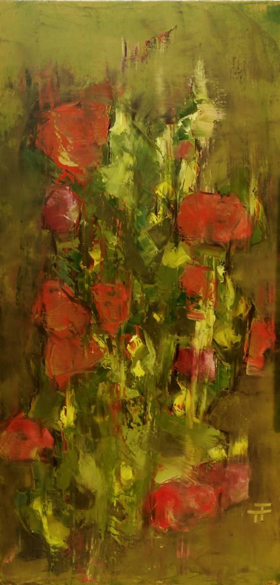 18-97-Le rosier grimpant-60x120